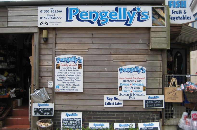 Famous Leasehold Fish Mongers In Looe and Liskeard